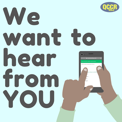 we want to hear from you