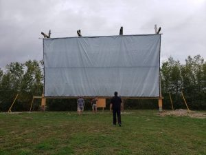South Shore Drive-In screen
